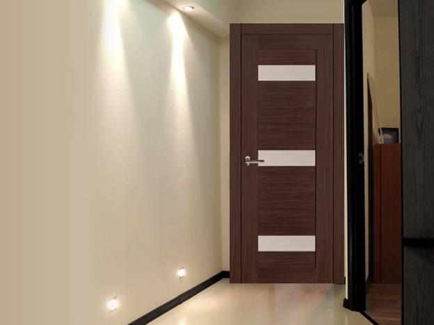 двери светлый венге в интерьере